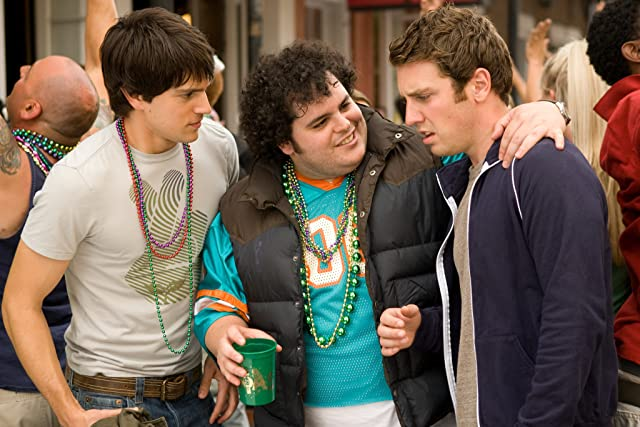 Nicholas D'Agosto, Bret Harrison, and Josh Gad in Mardi Gras: Spring Break (2011)