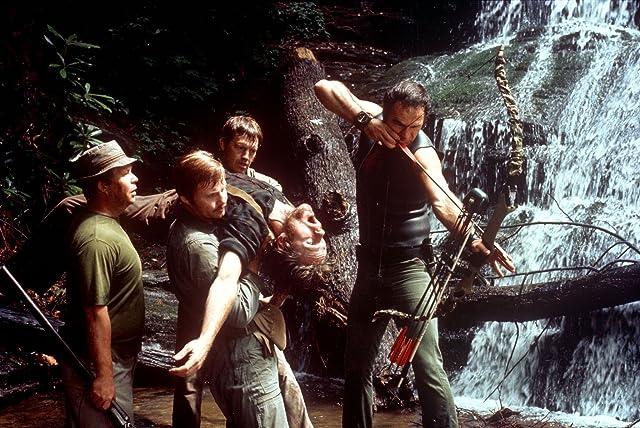 Burt Reynolds, Jon Voight, Ned Beatty, Ronny Cox, and Bill McKinney in Deliverance (1972)