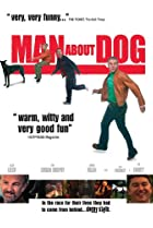 Image of Man About Dog