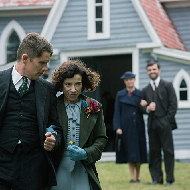 Ethan Hawke, Greg Malone, and Sally Hawkins in Maudie (2016)