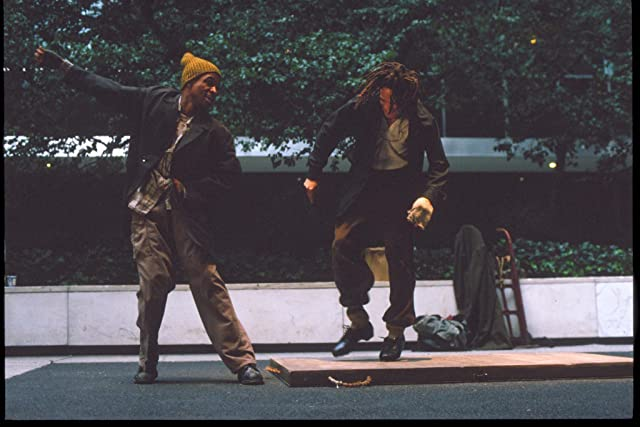 Tommy Davidson and Savion Glover in Bamboozled (2000)