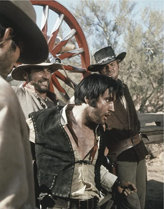Elvis Presley and James Sikking in Charro! (1969)