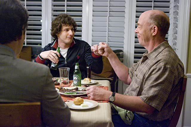J.K. Simmons and Andy Samberg in I Love You, Man (2009)