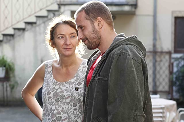 Corinne Masiero and Matthias Schoenaerts in Rust and Bone (2012)