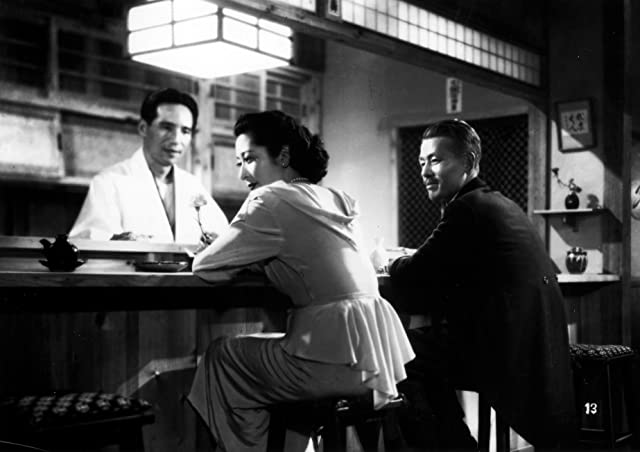 Setsuko Hara and Chishû Ryû in Late Spring (1949)