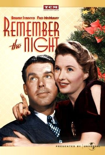 movie poster from the 1940 movie Remember the Night