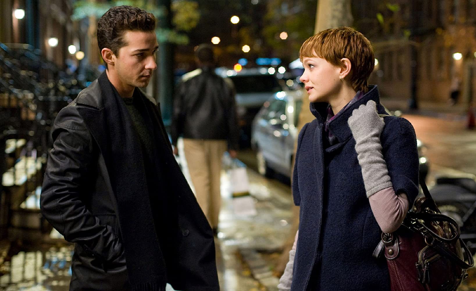 Shia LaBeouf and Carey Mulligan in Wall Street: Money Never Sleeps (2010)