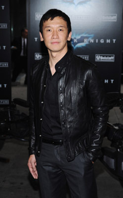 Chin Han at an event for The Dark Knight (2008)