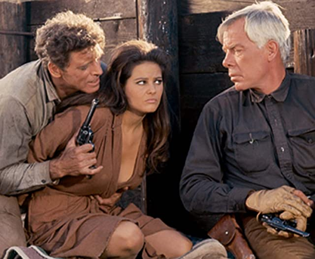 Burt Lancaster, Claudia Cardinale, and Lee Marvin in The Professionals (1966)
