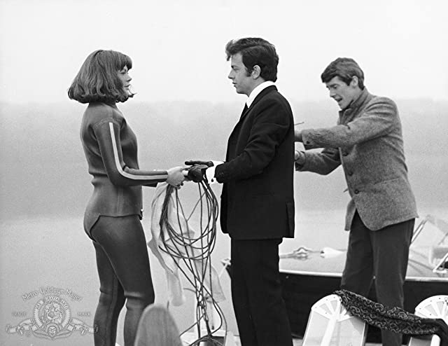 Charlotte Rampling, Ray Brooks, and Michael Crawford in The Knack... and How to Get It (1965)