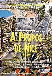 À propos de Nice, la suite Poster