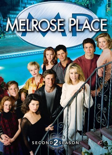 Heather Locklear, Daphne Zuniga, Grant Show, Courtney Thorne-Smith, Josie Bissett, Thomas Calabro, Marcia Cross, Laura Leighton, Doug Savant, and Andrew Shue in Melrose Place (1992)