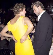 BAFTAS with Russell Crowe