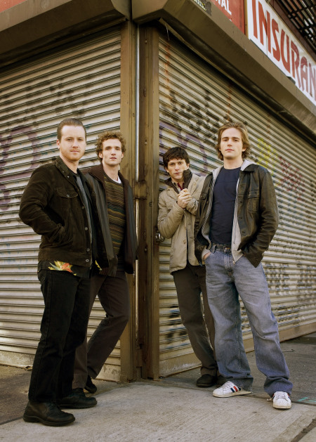 Jonathan Tucker, Tom Guiry, Michael Stahl-David, and Billy Lush in The Black Donnellys (2007)