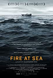 Fuocoammare (Fire at sea) poster do filme