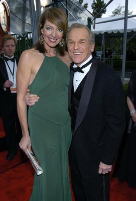 Allison Janney and John Spencer