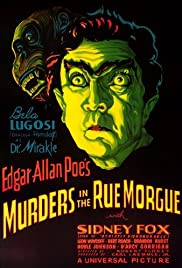 Murders in the Rue Morgue (1932) Poster - Movie Forum, Cast, Reviews