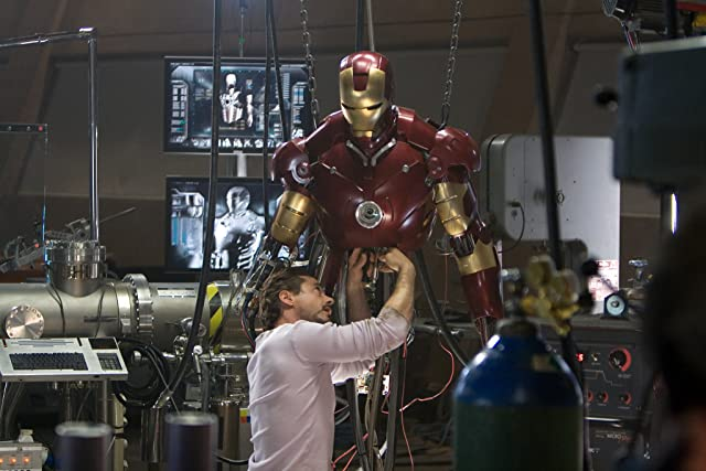 Robert Downey Jr. in Iron Man (2008)