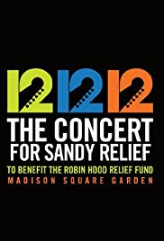 12-12-12: The Concert for Sandy Relief Poster