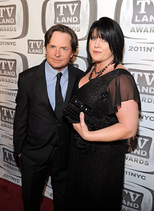 Michael J. Fox and Tina Yothers