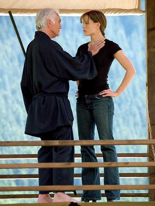 Terence Stamp and Jennifer Garner in Elektra (2005)