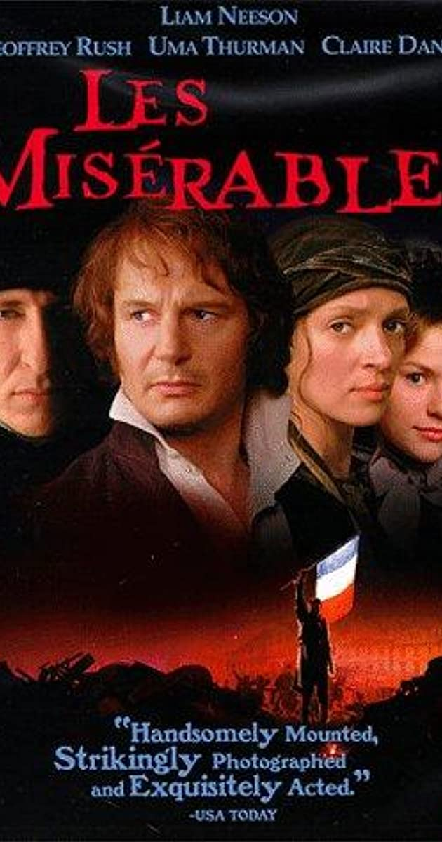 summary of les miserables 1998 movie Les miserables is a novel of great enough length that there are several different  plot lines happening throughout the story following different characters.