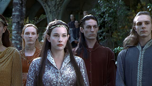Liv Tyler in The Lord of the Rings: The Fellowship of the Ring (2001)