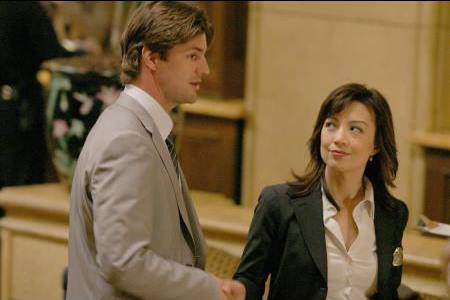 Ming-Na Wen and Gale Harold in Vanished (2006)