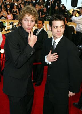 Chris Pratt and Mike Erwin