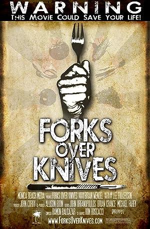 Poster Gabel statt Skalpell - Gesünder leben ohne Fleisch