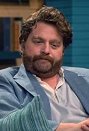 Zach Galifianakis Wears a Blue Jacket & Red Socks Poster
