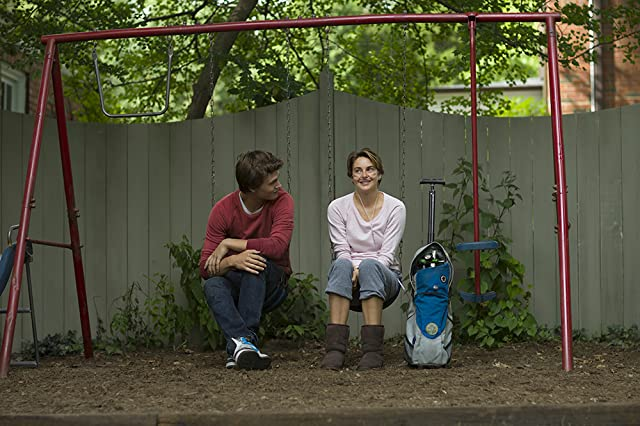 Shailene Woodley and Ansel Elgort in The Fault in Our Stars (2014)