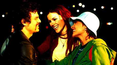 (L-R) Mark Ruffalo (Coles), Kathleen Robertson (Thea) and Maya Stange (Sam)