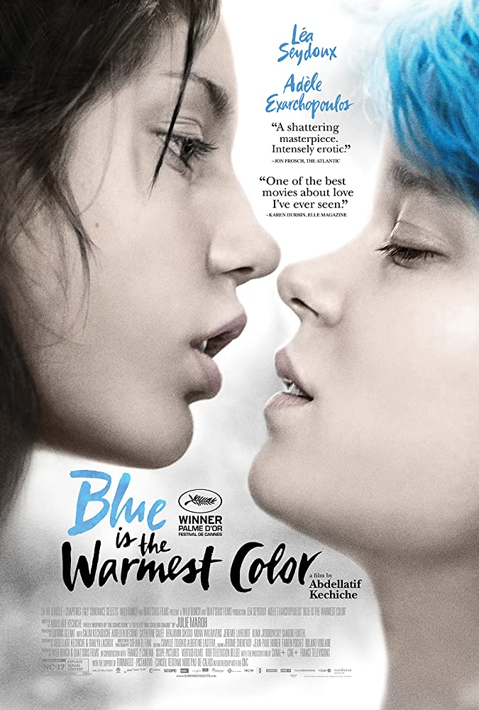 Blue is the Warmest Color filmposter