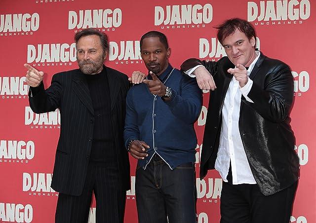 Quentin Tarantino, Jamie Foxx, and Franco Nero at Django Unchained (2012)
