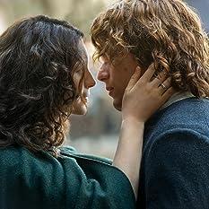 Sam Heughan and Caitriona Balfe in Outlander (2014)