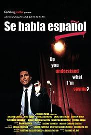 Se habla español Poster