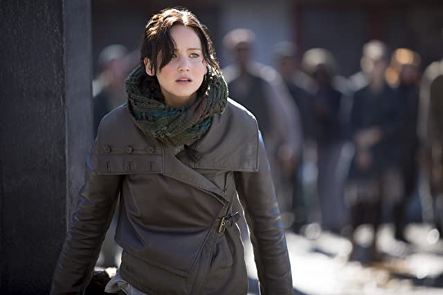 Jennifer Lawrence in The Hunger Games: Catching Fire (2013)