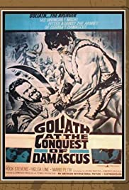 Goliath at the Conquest of Damascus Poster