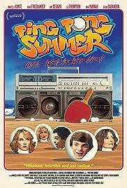 Ping Pong Summer Poster