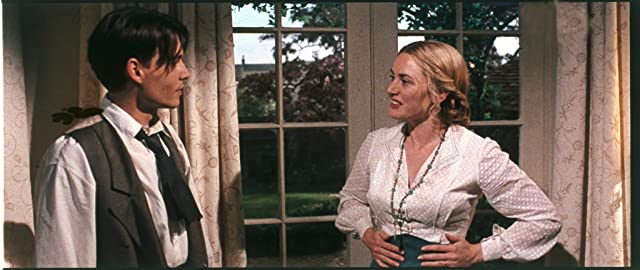 Johnny Depp and Kate Winslet in Finding Neverland (2004)