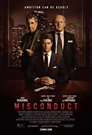 Misconduct (2016) Poster - Movie Forum, Cast, Reviews