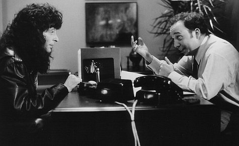 Howard Stern and Paul Giamatti in Private Parts (1997)