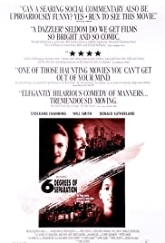 Six Degrees of Separation (1993) Poster - Movie Forum, Cast, Reviews
