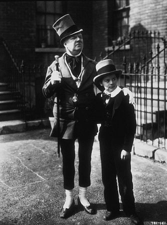 W.C. Fields and Freddie Bartholomew in