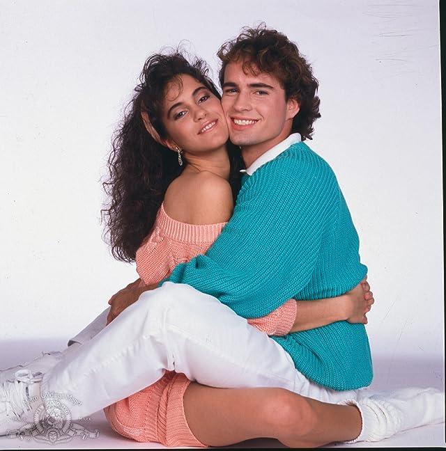 Jami Gertz and Jason Patric in Solarbabies (1986)