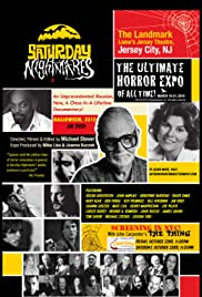 Saturday Nightmares: The Ultimate Horror Expo of All Time! Poster