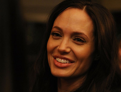 Angelina Jolie at an event for Gran Torino (2008)