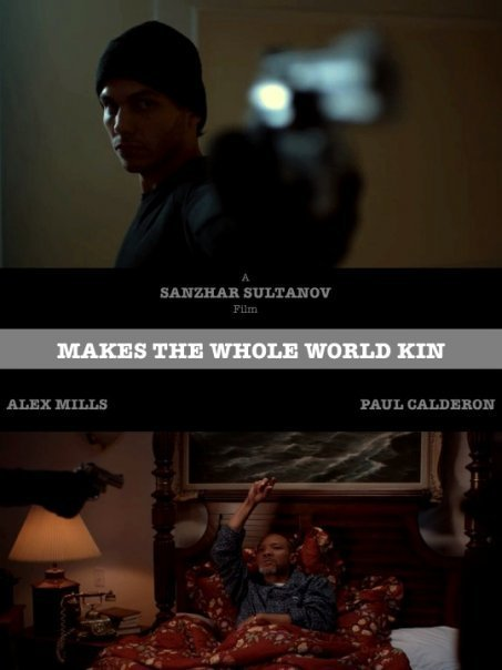 Paul Calderon, Sanzhar Sultan, and Alex Mills in Makes the Whole World Kin (2009)