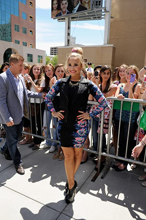Demi Lovato at an event for The X Factor (2011)